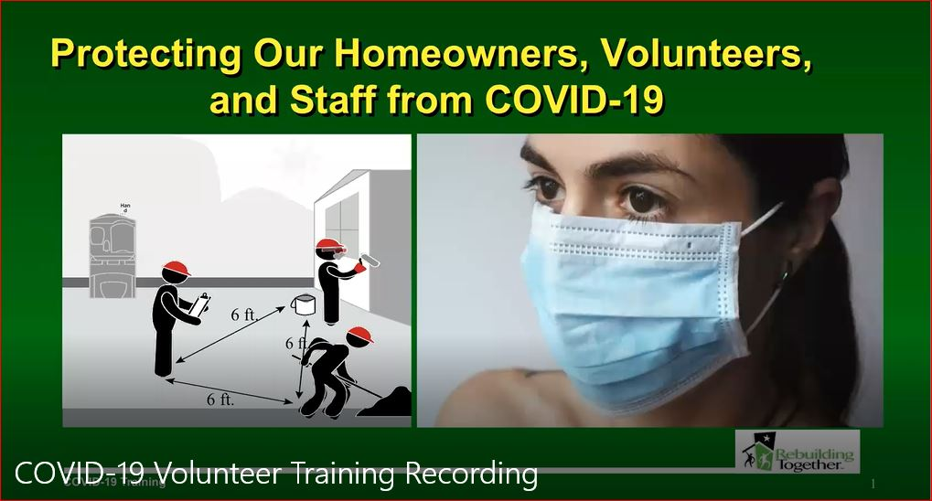 Link to Volunteer Safety Training Video